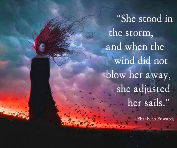 She stood in the wind revised